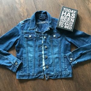 2/$30 Gap Boys Girls 1969 Trucker Jean Jacket XXL